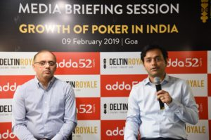 L-R- Roland Landers, CEO, All India Gaming Federation (AIGF & Mohit Agarwal, Founder & CEO of Adda52.com