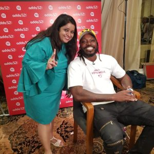Media Briefing session – Poker Nights with Gayle 2