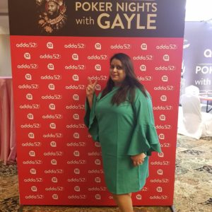 Media Briefing session – Poker Nights with Gayle 5