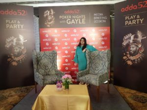 Media Briefing session – Poker Nights with Gayle 6