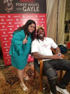Media Briefing session – Poker Nights with Gayle 8