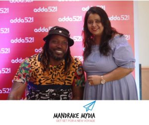 Media Interaction with Chris Gayle – Cricket on field & Poker off Field
